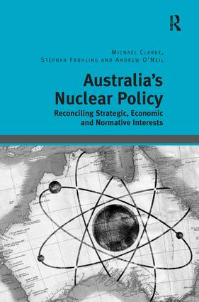 Australia's Nuclear Policy (Hardback) book cover