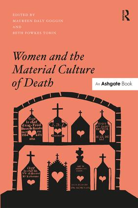 Women and the Material Culture of Death (Hardback) book cover