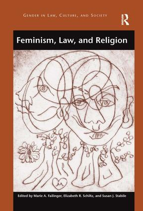 Feminism, Law, and Religion (Hardback) book cover