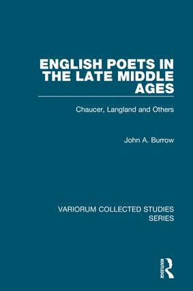 English Poets in the Late Middle Ages: Chaucer, Langland and Others book cover