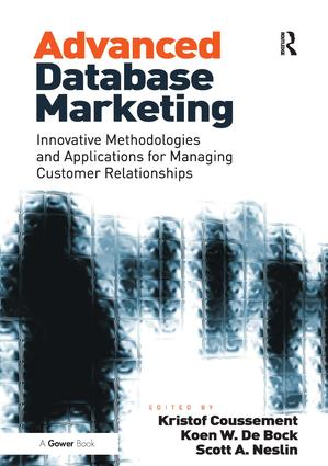 Advanced Database Marketing: Innovative Methodologies and Applications for Managing Customer Relationships, 1st Edition (Hardback) book cover