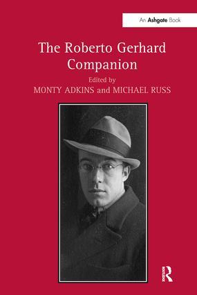 The Roberto Gerhard Companion (Hardback) book cover