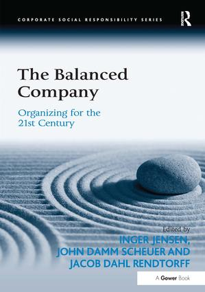 The Balanced Company: Organizing for the 21st Century, 1st Edition (Hardback) book cover