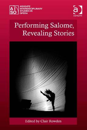 Performing Salome, Revealing Stories book cover
