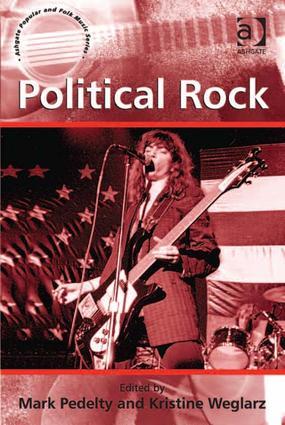 Political Rock: 1st Edition (Hardback) book cover