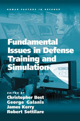 Fundamental Issues in Defense Training and Simulation: 1st Edition (Hardback) book cover