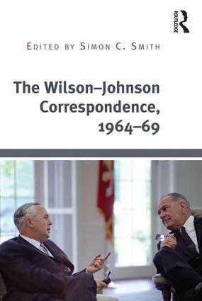 The Wilson–Johnson Correspondence, 1964–69
