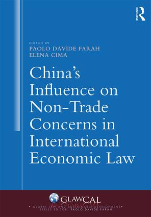 China's Influence on Non-Trade Concerns in International Economic Law book cover