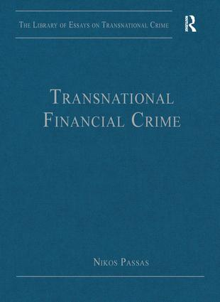 Transnational Financial Crime: 1st Edition (Hardback) book cover