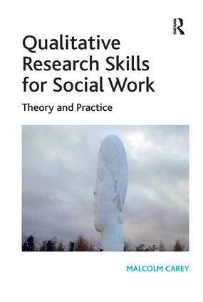 Qualitative Research Skills for Social Work