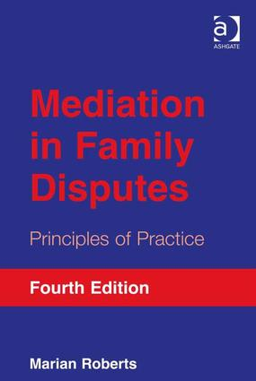 Mediation in Family Disputes: Principles of Practice book cover
