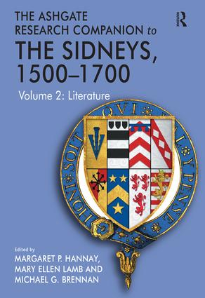 The Ashgate Research Companion to The Sidneys, 1500–1700: Volume 2: Literature, 1st Edition (Hardback) book cover