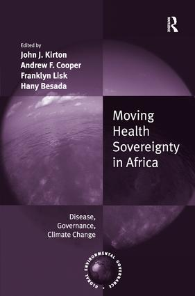 Moving Health Sovereignty in Africa: Disease, Governance, Climate Change book cover