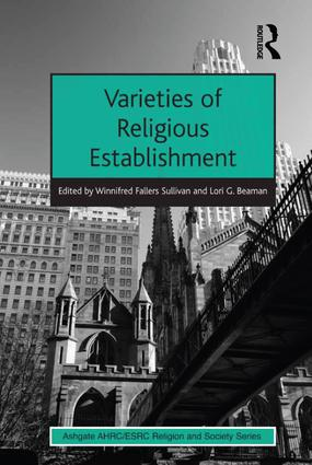 Varieties of Religious Establishment: 1st Edition (Hardback) book cover
