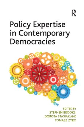 Policy Expertise in Contemporary Democracies: 1st Edition (Hardback) book cover