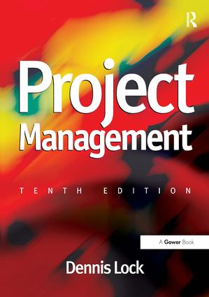 Project Management: 10th Edition (Paperback) book cover