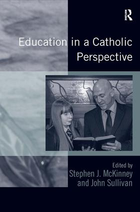 Education in a Catholic Perspective (Hardback) book cover