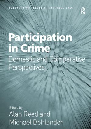 Participation in Crime: Domestic and Comparative Perspectives, 1st Edition (Hardback) book cover