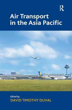 Air Transport in the Asia Pacific (Hardback) book cover