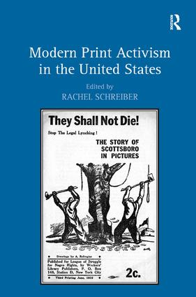 Modern Print Activism in the United States: 1st Edition (Hardback) book cover