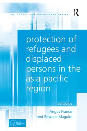 Protection of Refugees and Displaced Persons in the Asia Pacific Region book cover