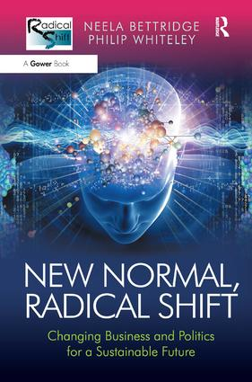 New Normal, Radical Shift: Changing Business and Politics for a Sustainable Future book cover