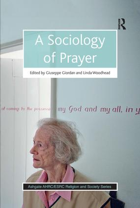 A Sociology of Prayer (Paperback) book cover