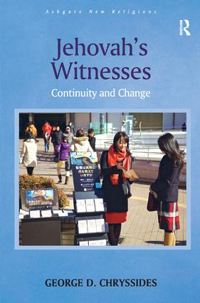 Jehovah's Witnesses: Continuity and Change, 1st Edition (Hardback) book cover