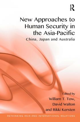 New Approaches to Human Security in the Asia-Pacific: China, Japan and Australia book cover