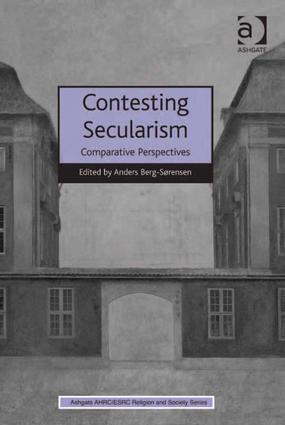 Contesting Secularism: Comparative Perspectives (Hardback) book cover