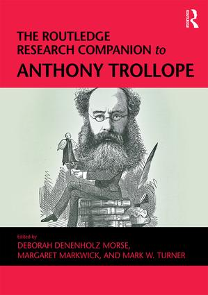 The Routledge Research Companion to Anthony Trollope book cover