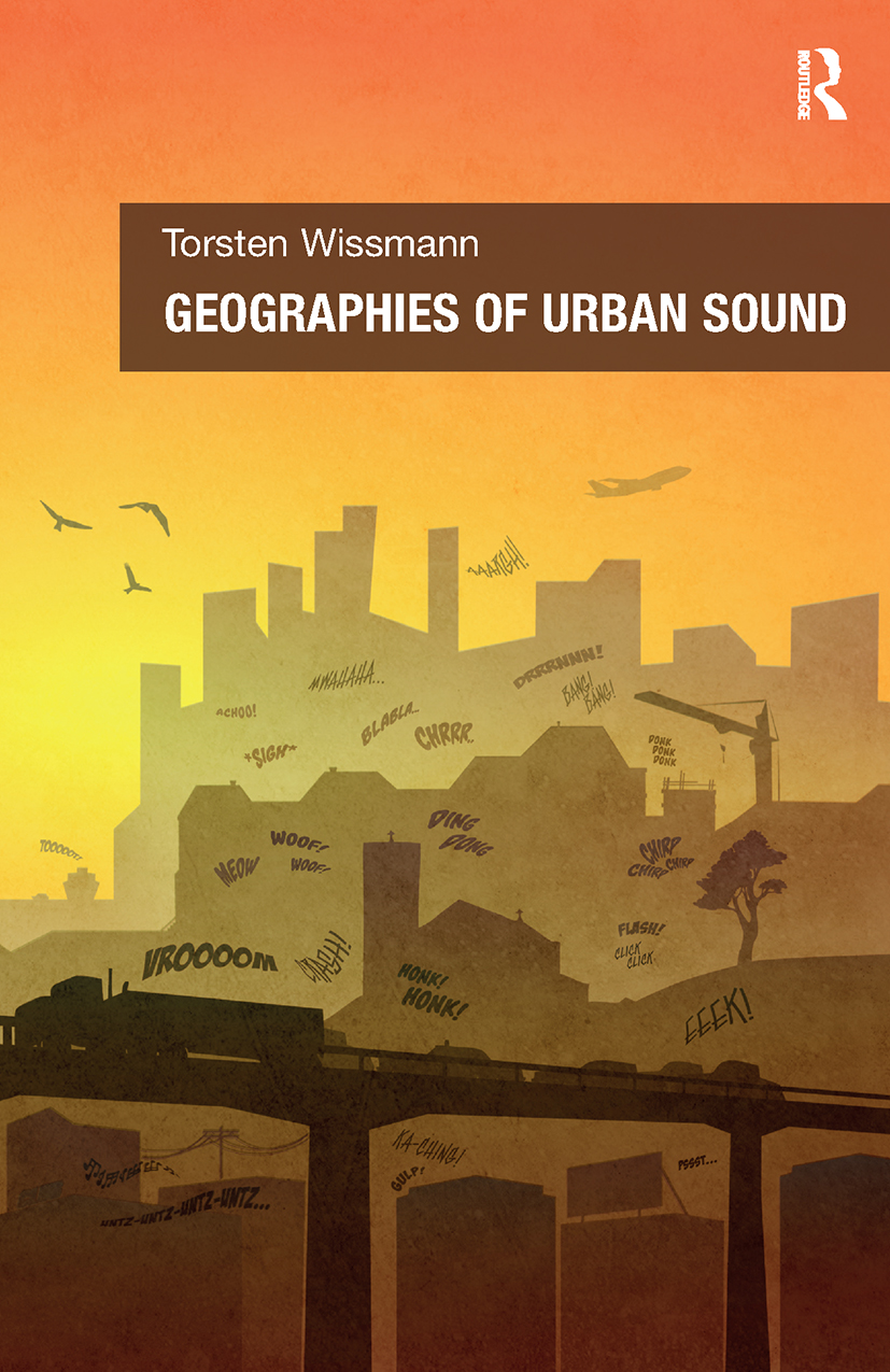 Geographies of Urban Sound (Hardback) book cover