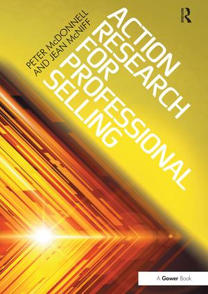 Action Research for Professional Selling (Hardback) book cover