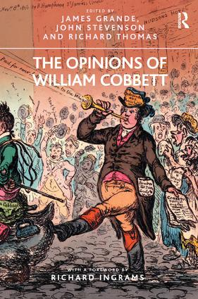 The Opinions of William Cobbett: 1st Edition (Paperback) book cover