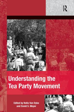 Understanding the Tea Party Movement (Paperback) book cover