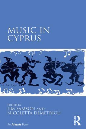 Music in Cyprus (Hardback) book cover