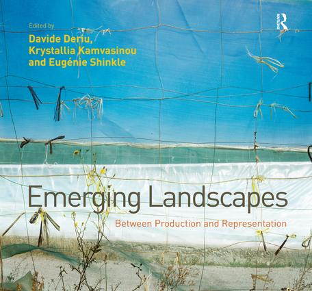 Emerging Landscapes: Between Production and Representation (Hardback) book cover