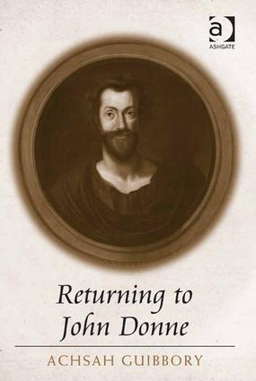 Returning to John Donne: 1st Edition (Hardback) book cover