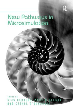 New Pathways in Microsimulation: 1st Edition (Hardback) book cover