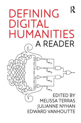 Defining Digital Humanities: A Reader book cover