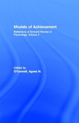 Models of Achievement: Reflections of Eminent Women in Psychology, Volume 3 (e-Book) book cover
