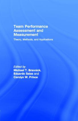 Performance Measurement Tools for Enhancing Team Decision-Making Training