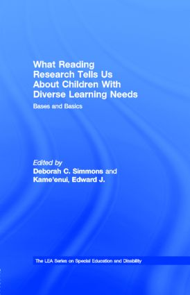 What Reading Research Tells Us About Children With Diverse Learning Needs: Bases and Basics book cover