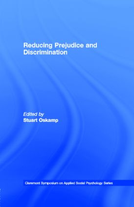 Reducing Prejudice and Discrimination book cover