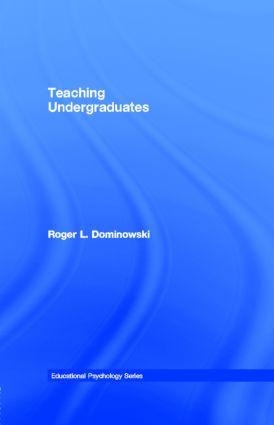 Teaching Undergraduates book cover