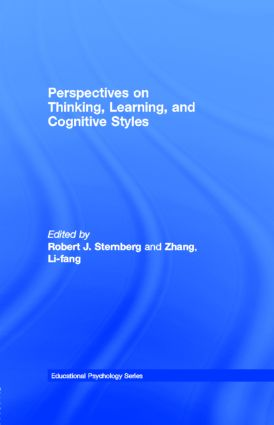 Perspectives on Thinking, Learning, and Cognitive Styles: 1st Edition (e-Book) book cover