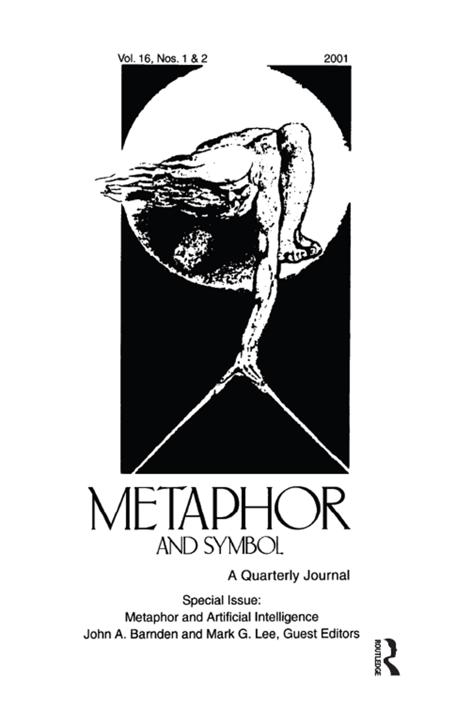 Metaphor and Artificial Intelligence: A Special Double Issue of metaphor and Symbol (Paperback) book cover
