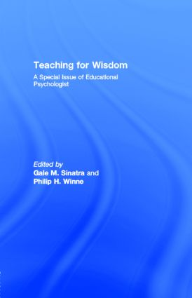 Teaching for Wisdom: A Special Issue of Educational Psychologist, 1st Edition (Paperback) book cover
