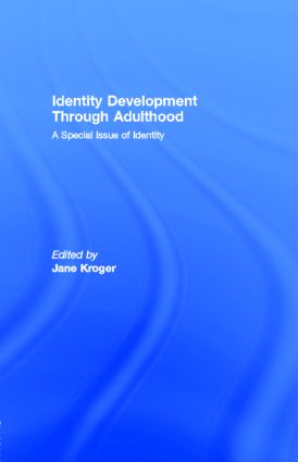 Identity Development Through Adulthood: A Special Issue of Identity (Paperback) book cover