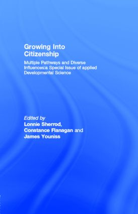 Growing Into Citizenship: Multiple Pathways and Diverse Influences:a Special Issue of applied Developmental Science, 1st Edition (Paperback) book cover